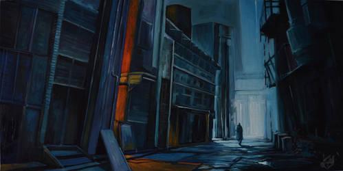Lone wanderer by Gnigi