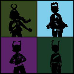 HS Fan Ancestor silhouettes by MimickingHimHiccupin