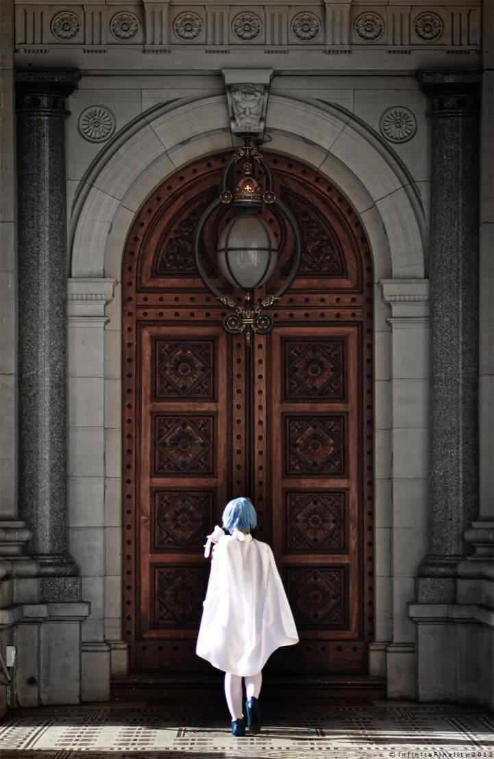 MCPX_Madoka_Sayaka_Darkness Beyond That Door by infiniteFinality
