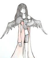 Rinoa in Ultimecia's Clothes by infiniteFinality