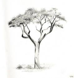 LITTLE TREE by VinnDengsen