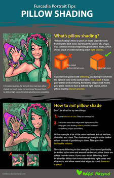 Furc Port Tips: Pillow Shading by nekkers