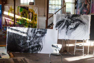Studio work in Progress by K-mar