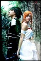 Kirito And Asuna Alfheim cosplay (SAO) by AstronSama