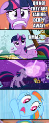 How To Deal With The Derpy-Issue, Twilight Style by dmtb