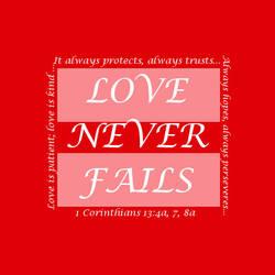 Love Never Fails by RavenBaraq