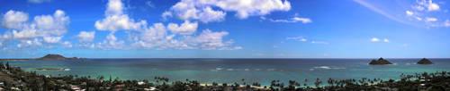 paradise view by aeronautkit