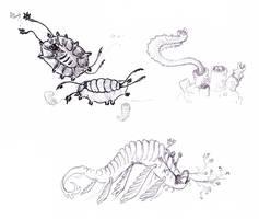 Alien Fauna of Mayim 2 by GenevieveMeuniere