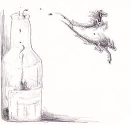 Bottle Djins by GenevieveMeuniere