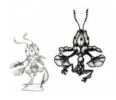 Hree-hkri - Species Sketch by GenevieveMeuniere