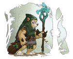 Heroes of Armello - Ghor the Wylkin by GenevieveMeuniere