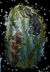 Mystical Forest Dive by GenevieveMeuniere
