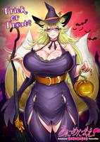 Happy Halloween from Sidu, Kitsune Maiden! by RebisDungeon