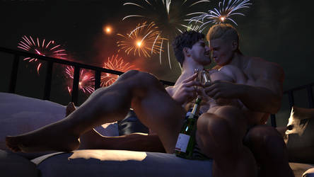 Happy New Year 2019 - Balcony by daz-swole