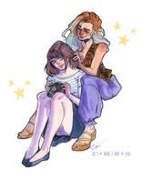 Gift: Girls like Girls by FidisART