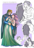 Sketchpage: Phineas/Salmairion by FidisART