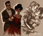 Angelica and Roderick by FidisART