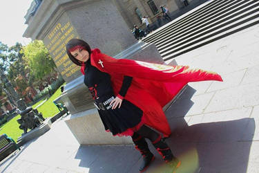 RWBY: Ruby Rose preview 2 full body shot~ by LoneSurvivor01