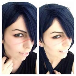 DMMD: Spontaneous Koujaku makeup test by LoneSurvivor01