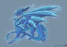 Frostbloom Dragon by AkaiTsuki93