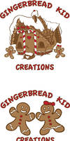 Gingerbread Kid Creations Logo by SquidMantis