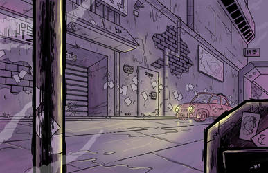 Back Alley by SquidMantis