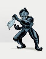 Ninja Doodle by SquidMantis