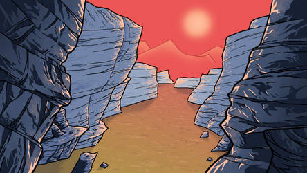 The Canyon by SquidMantis