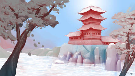 Background Digital Painting by SquidMantis