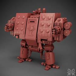 Warhammer Dreadnought by kemalkorkmaz