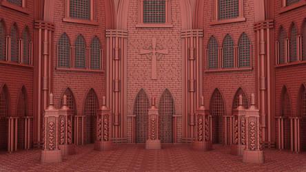Warhammer Church of Andrea:) by kemalkorkmaz