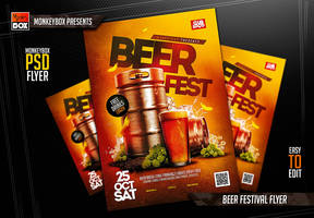 Beer Festival Flyer by AndyDreamm