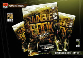 Jungle Book Flyer Template by AndyDreamm