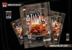 Thanksgiving Day Flyer by AndyDreamm