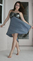 Grey Silver dress I by savung-stock