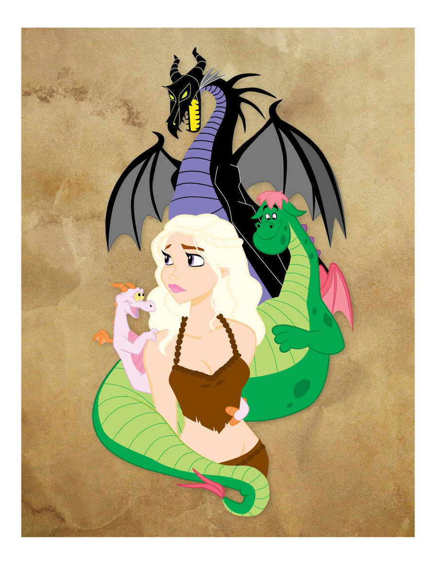 Mother of Dragons by RamonaForever
