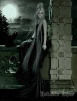 Death goddess by Heliakin