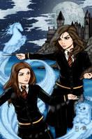 Hermonie and Ginny by Blackmoonrose13