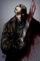 Jason Vorhees by Blackmoonrose13