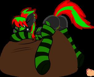 Green butt by dodge-von-wolf