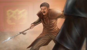 Game of Thrones - Oberyn Martell by BenMaud
