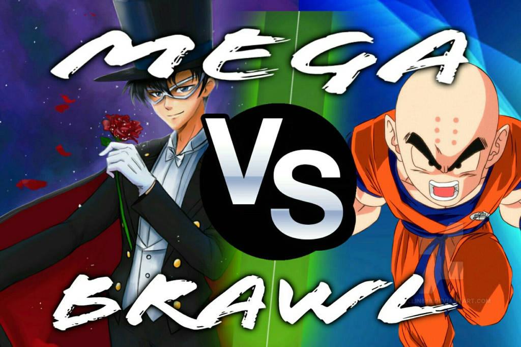 Mega Brawl Tuexdo Mask vs Krillin by Frisk863