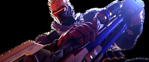 [Overwatch] Soldier: 76 (Render) by PopokuPinguPop90