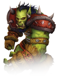 [WoW] Orc (Render) by PopokuPinguPop90