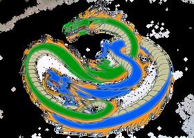 [Overwatch] Shimada Dragons (Fanart) ver. 2 by PopokuPinguPop90