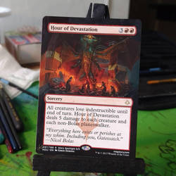 Hour Of Devastation - Borderless by Hurley-Burley-Alters