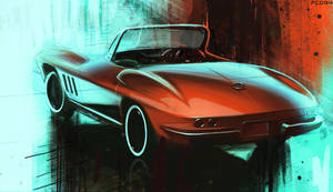 Corvette ART by FCD94