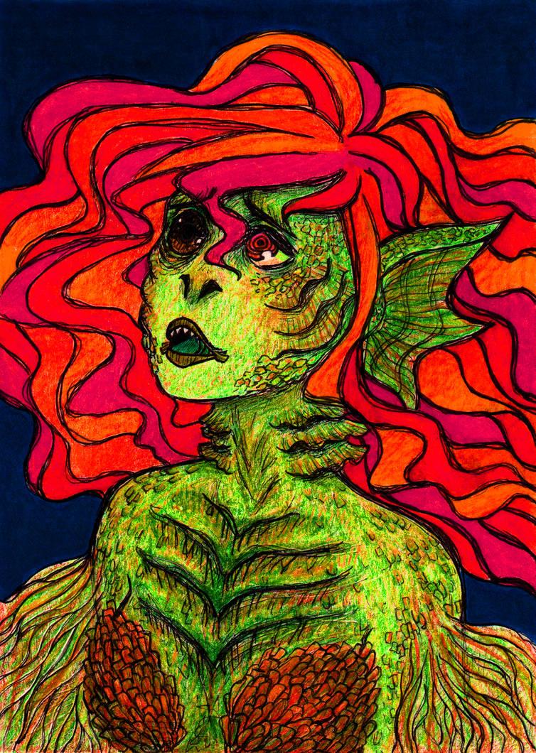 Sirena by artsybarrels