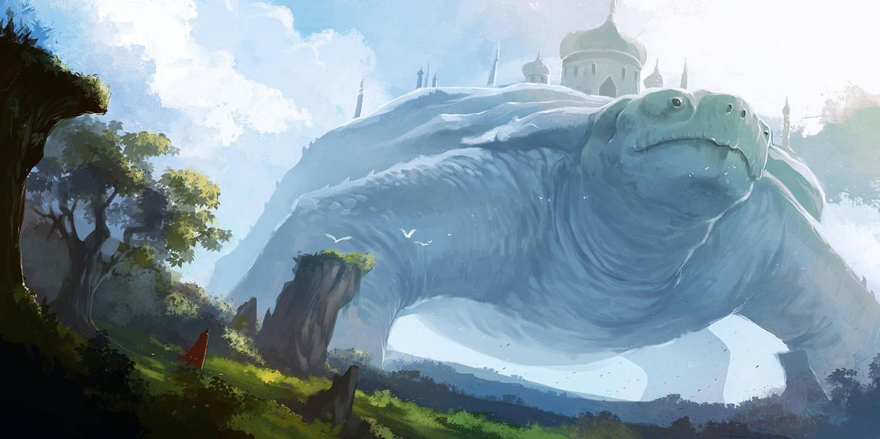 Land of Giants by desmondWOOT