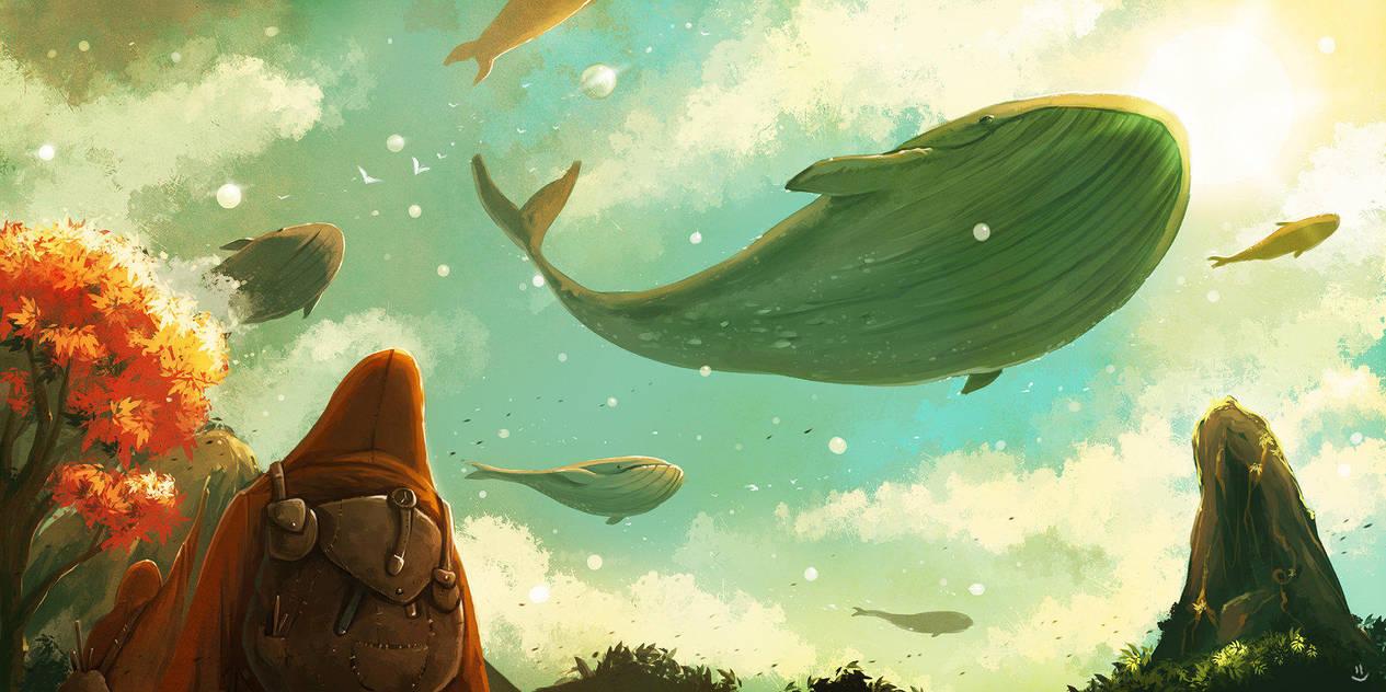 The Ocean Sky by desmondWOOT